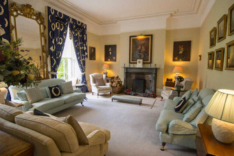 Beaufort House drawing room