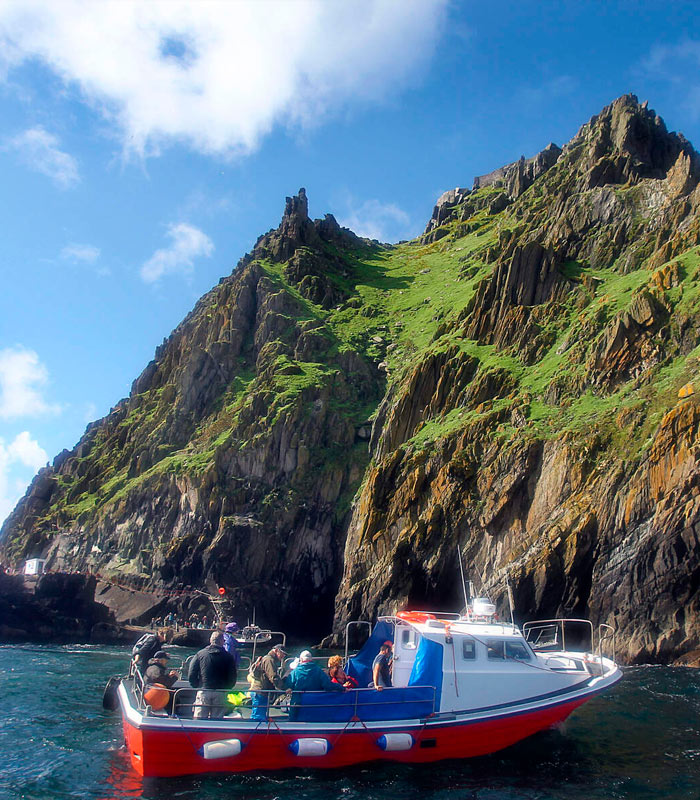 Skellig boat trip