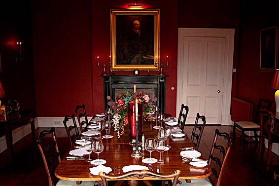 Beaufort House dining room